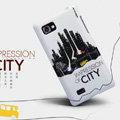 Nillkin Impression of City Hard Cases Skin Covers for LG P880 Optimus 4X HD - White (High transparent screen protector)