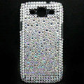 Bling Crystal Cover Diamond Rhinestone Cases For Samsung Galaxy S III 3 i9300 I9308 - White