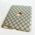 Gucci Leather Cases Hard Skin Covers for iPad 2 / The New iPad - Grey