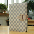 Louis Vuitton LV Smart Cover Wake Sleep Leather Cases for iPad 2 / The New iPad - Beige