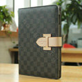 Louis Vuitton LV Smart Cover Wake Sleep Leather Cases for iPad 2 / The New iPad - Black