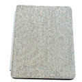 Luxury Bling Holster covers diamond crystal Leather cases for iPad 2 / The New iPad - White