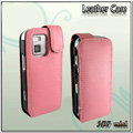 IMAK Colorful leather Cases Holster Covers for Nokia N97 mini - Pink