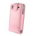 IMAK Colorful leather Cases Holster Covers for Samsung i9000 Galaxy S i9001 - Pink