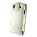 IMAK Colorful leather Cases Holster Covers for Samsung i9000 Galaxy S i9001 - White