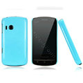 Nillkin Colorful Hard Cases Skin Covers for Lenovo A60 - Blue (High transparent screen protector)