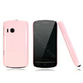 Nillkin Colorful Hard Cases Skin Covers for Lenovo A60 - Pink (High transparent screen protector)