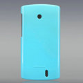 Nillkin Colorful Hard Cases Skin Covers for Lenovo A68E - Blue (High transparent screen protector)