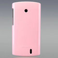 Nillkin Colorful Hard Cases Skin Covers for Lenovo A68E - Pink (High transparent screen protector)