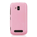 Nillkin Colorful Hard Cases Skin Covers for Nokia Lumia 610 - Pink (High transparent screen protector)