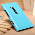 Nillkin Colorful Hard Cases Skin Covers for Nokia Lumia 900 Hydra - Blue (High transparent screen protector)