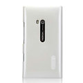 Nillkin Colorful Hard Cases Skin Covers for Nokia Lumia 900 Hydra - White (High transparent screen protector)