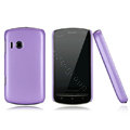 Nillkin Super Matte Hard Cases Skin Covers for Lenovo A60 - Purple (High transparent screen protector)