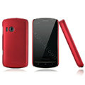 Nillkin Super Matte Hard Cases Skin Covers for Lenovo A60 - Red (High transparent screen protector)