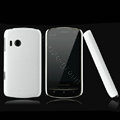 Nillkin Super Matte Hard Cases Skin Covers for Lenovo A60 - White (High transparent screen protector)