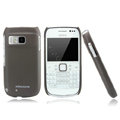 Nillkin Super Matte Hard Cases Skin Covers for Nokia E6 - Brown (High transparent screen protector)