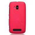 Nillkin Super Matte Hard Cases Skin Covers for Nokia Lumia 610 - Red (High transparent screen protector)