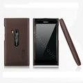 Nillkin Super Matte Hard Cases Skin Covers for Nokia N9 - Brown (High transparent screen protector)