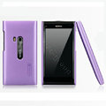 Nillkin Super Matte Hard Cases Skin Covers for Nokia N9 - Purple (High transparent screen protector)