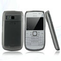 Nillkin Super Matte Rainbow Cases Skin Covers for Nokia E6 - Black (High transparent screen protector)
