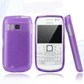 Nillkin Super Matte Rainbow Cases Skin Covers for Nokia E6 - Purple (High transparent screen protector)