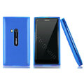 Nillkin Super Matte Rainbow Cases Skin Covers for Nokia N9 - Blue (High transparent screen protector)