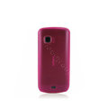 Nillkin Super Matte Rainbow Soft Cases Covers for Nokia C5-03 - Pink (High transparent screen protector)