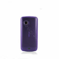 Nillkin Super Matte Rainbow Soft Cases Covers for Nokia C5-03 - Purple (High transparent screen protector)