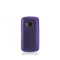 Nillkin Super Matte Rainbow Soft Cases Covers for Nokia C6-01 - Purple (High transparent screen protector)