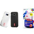 Nillkin Transparent Matte Soft Cases Covers for Nokia 5530 - Black (High transparent screen protector)