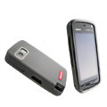 Nillkin Transparent Matte Soft Cases Covers for Nokia 5800 - Black (High transparent screen protector)