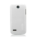 Nillkin Colorful Hard Cases Skin Covers for Huawei C8812 - White (High transparent screen protector)
