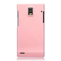 Nillkin Colorful Hard Cases Skin Covers for Huawei U9200 Ascend P1 - Pink (High transparent screen protector)