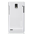 Nillkin Colorful Hard Cases Skin Covers for Huawei U9200 Ascend P1 - White (High transparent screen protector)