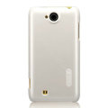 Nillkin Colorful Hard Cases Skin Covers for K-touch W806 - White (High transparent screen protector)