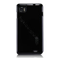 Nillkin Colorful Hard Cases Skin Covers for Lenovo LePhone K860 - Black (High transparent screen protector)