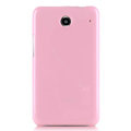 Nillkin Colorful Hard Cases Skin Covers for Lenovo S880 - Pink (High transparent screen protector)