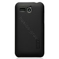 Nillkin Super Matte Hard Cases Skin Covers for Huawei C8810 - Black (High transparent screen protector)
