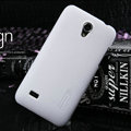 Nillkin Super Matte Hard Cases Skin Covers for Huawei C8825D U8825D G330D G330C - White (High transparent screen protector)