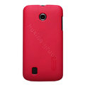 Nillkin Super Matte Hard Cases Skin Covers for Huawei T8830 Ascend G309T - Rose (High transparent screen protector)