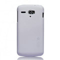 Nillkin Super Matte Hard Cases Skin Covers for Huawei U8836D G500 Pro - White (High transparent screen protector)