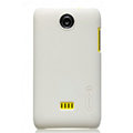 Nillkin Super Matte Hard Cases Skin Covers for K-touch W619 - White (High transparent screen protector)