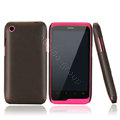 Nillkin Super Matte Hard Cases Skin Covers for K-touch W700 - Brown (High transparent screen protector)