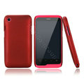 Nillkin Super Matte Hard Cases Skin Covers for K-touch W700 - Red (High transparent screen protector)
