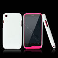 Nillkin Super Matte Hard Cases Skin Covers for K-touch W700 - White (High transparent screen protector)