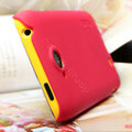 Nillkin Super Matte Hard Cases Skin Covers for K-touch W806 - Rose (High transparent screen protector)