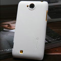Nillkin Super Matte Hard Cases Skin Covers for K-touch W806 - White (High transparent screen protector)