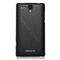 Nillkin Super Matte Hard Cases Skin Covers for K-touch W808 - Black (High transparent screen protector)