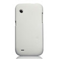 Nillkin Super Matte Hard Cases Skin Covers for Lenovo LePhone A580 S850e - White (High transparent screen protector)