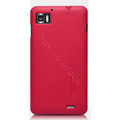 Nillkin Super Matte Hard Cases Skin Covers for Lenovo LePhone K860 - Rose (High transparent screen protector)
